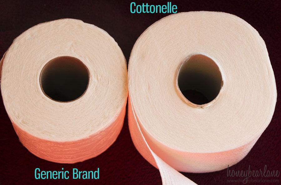 cottonelle versus store brand