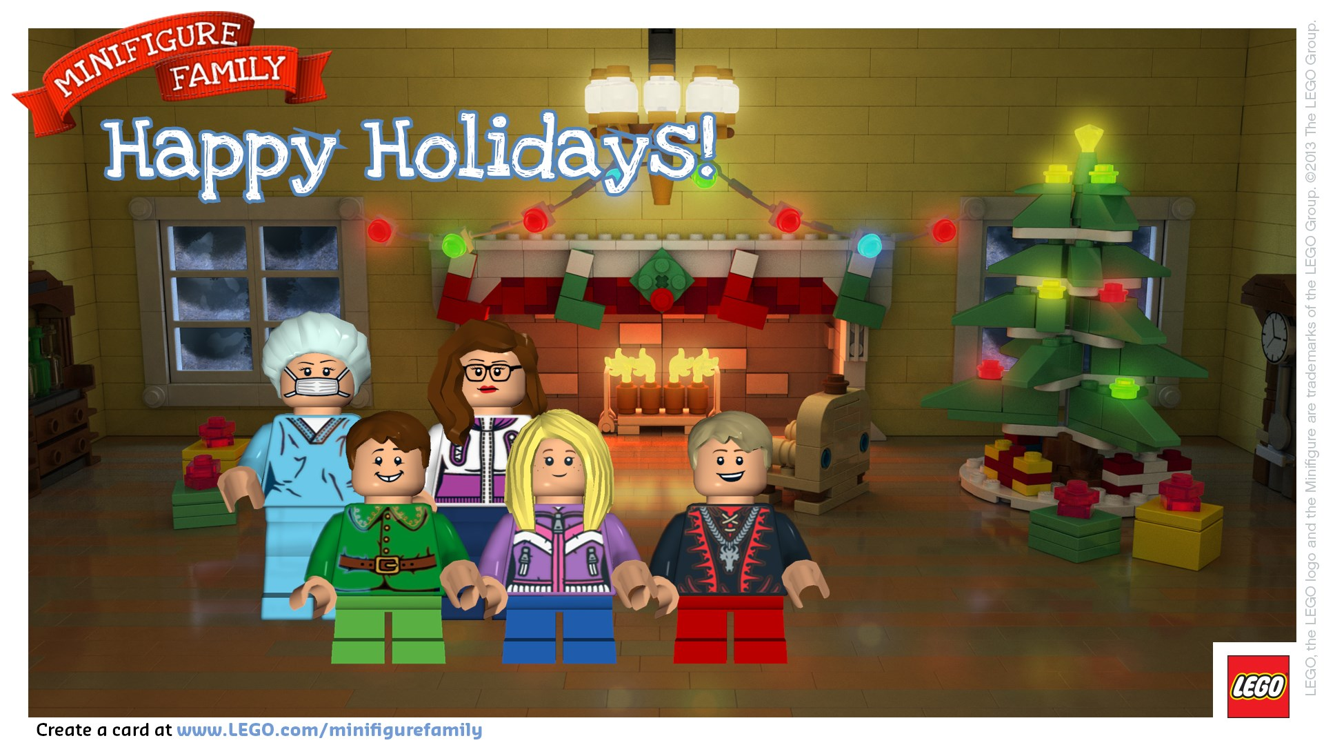 Merry Lego Christmas Honeybear Lane