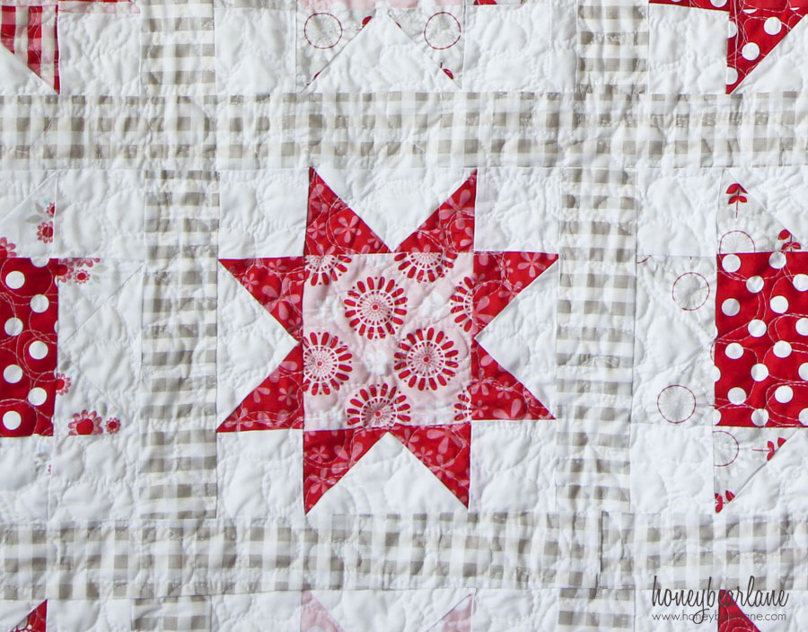 Simple Sawtooth Star Quilt Pattern - Honeybear Lane : simple star quilt pattern - Adamdwight.com