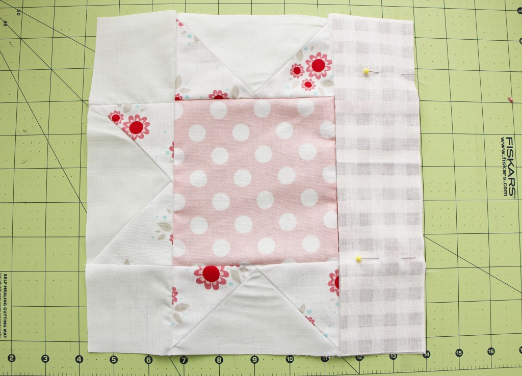 sawtooth star quilt_1