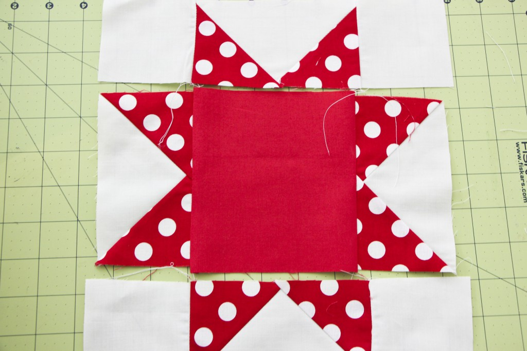 sawtooth star quilt_2