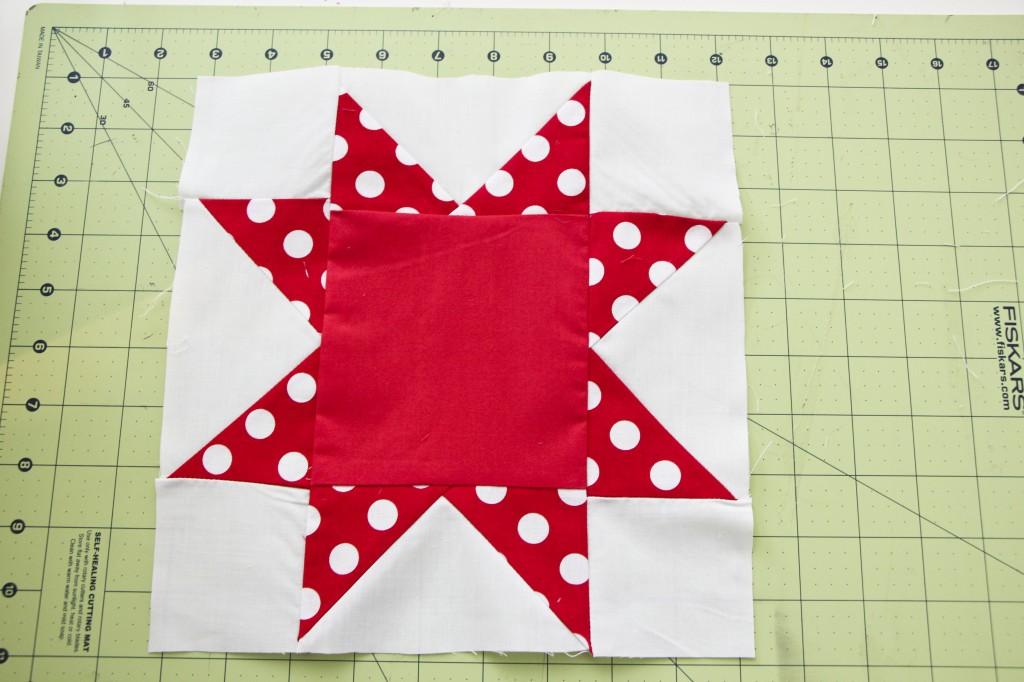 sawtooth star quilt_3