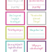 14 Days of Love Printables
