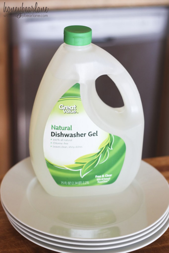great value natural dishwasher gel