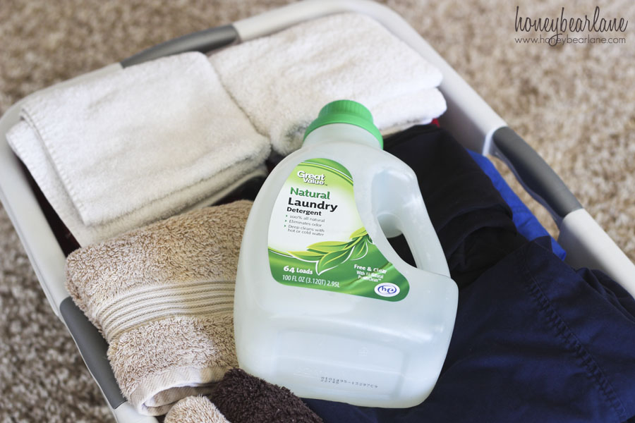 great value natural laundry detergent