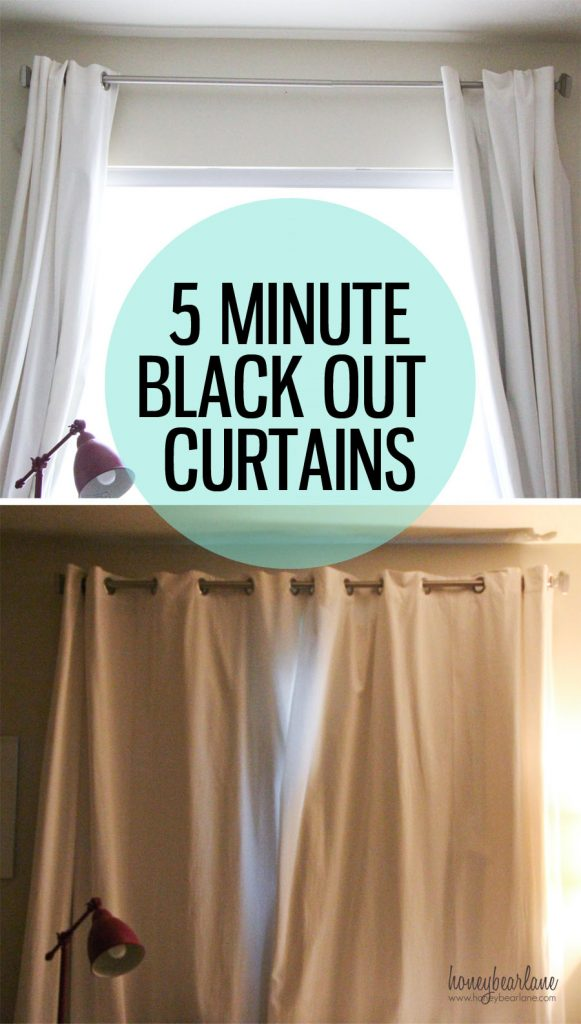 5 Minute Black Out Curtains