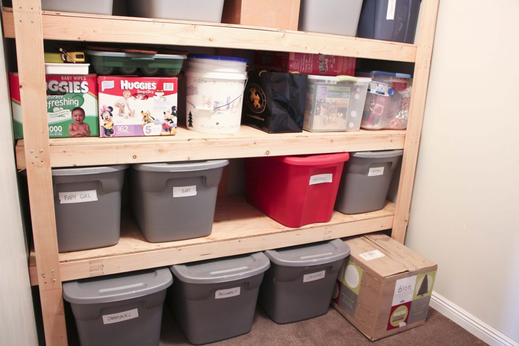 Storage Room Organization - Honeybear Lane