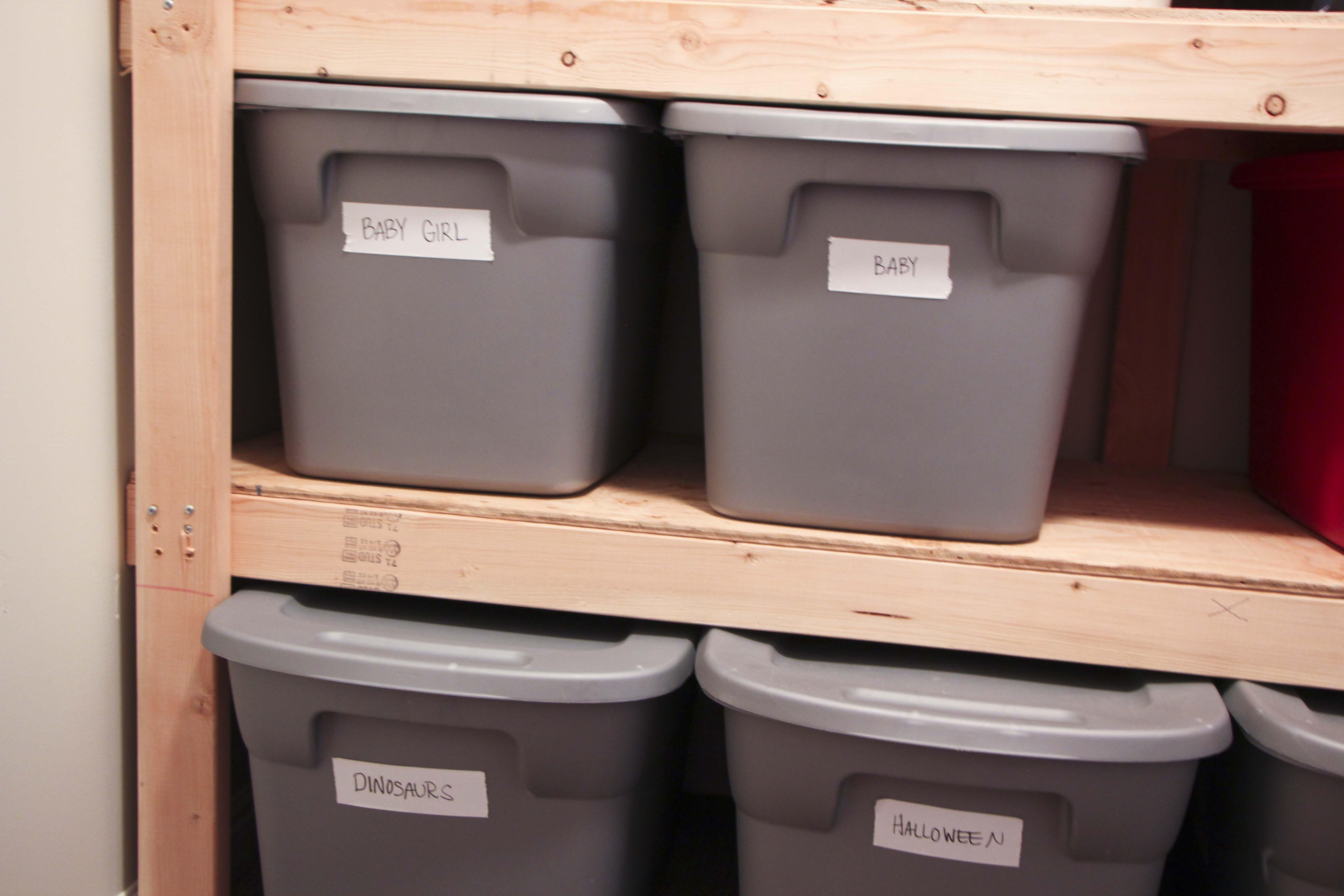 Storage Room Organization - HoneyBear Lane