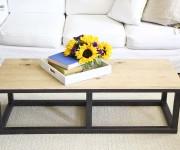 cheap diy industrial table