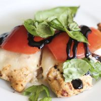 Tomato Basil Grilled Chicken