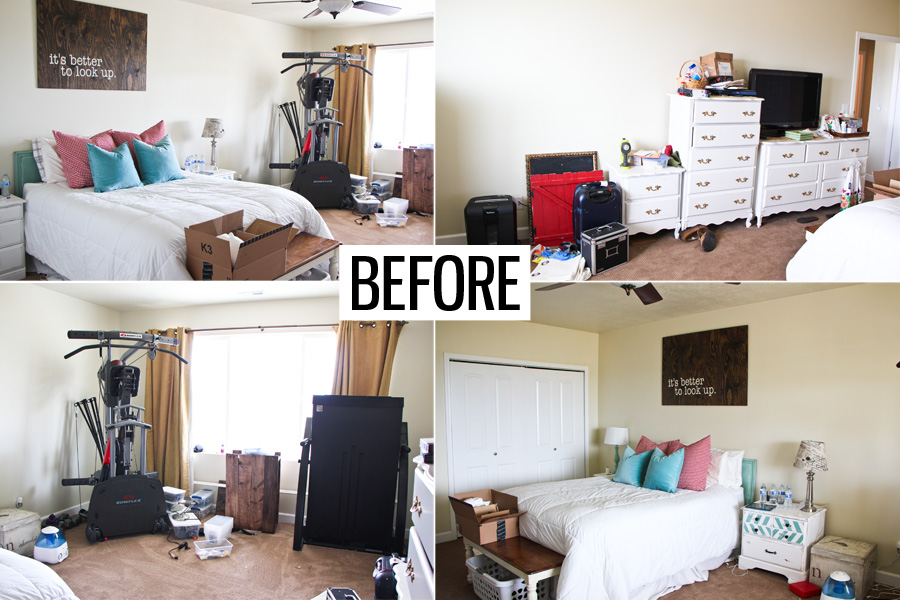 Master Bedroom Makeover - Honeybear Lane