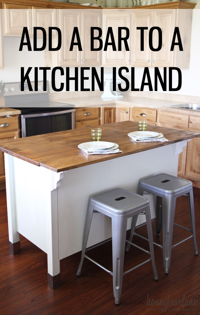 X Kitchen Island With Leaf