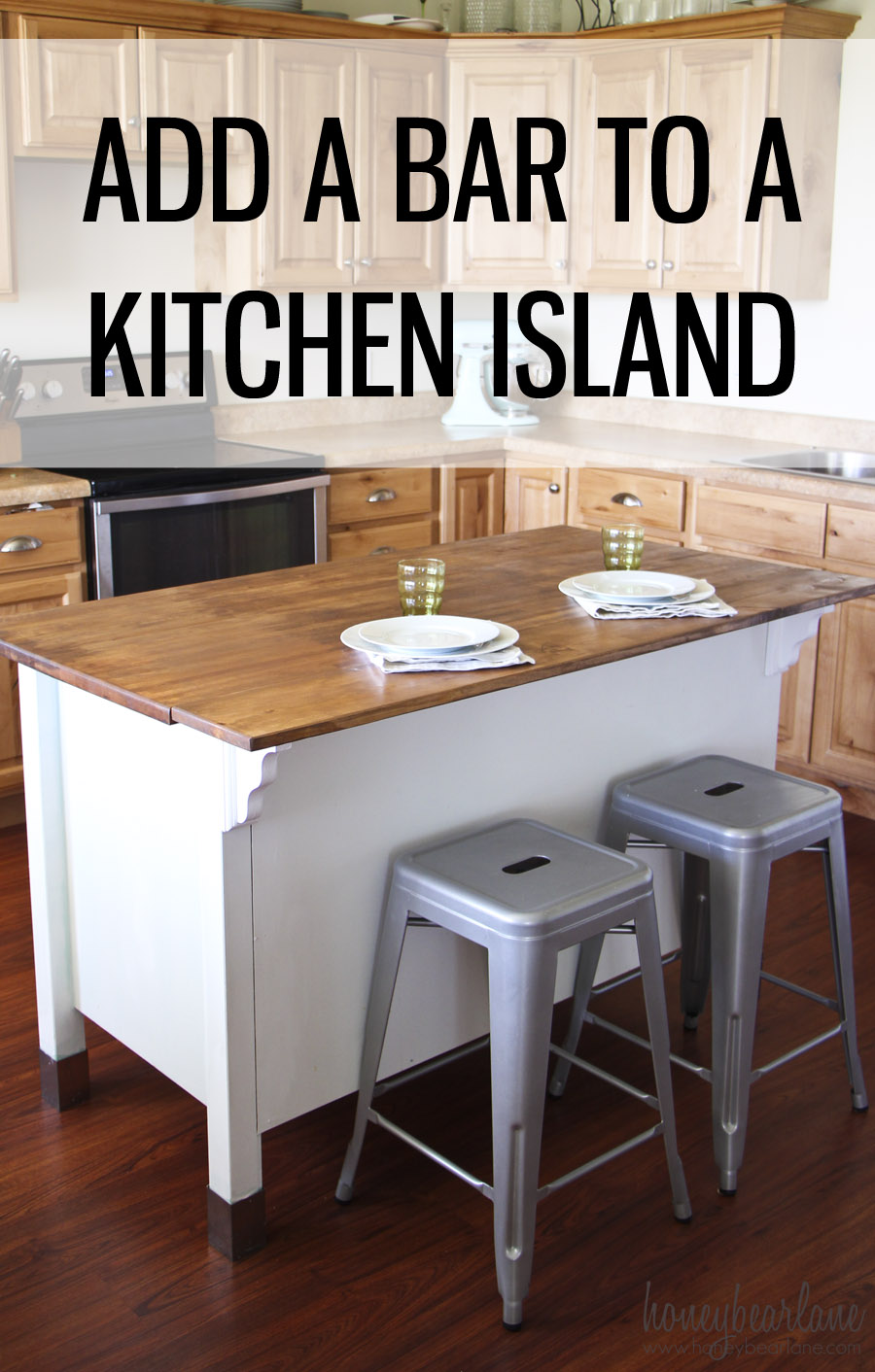 Kitchen Island Overhang For Stools
