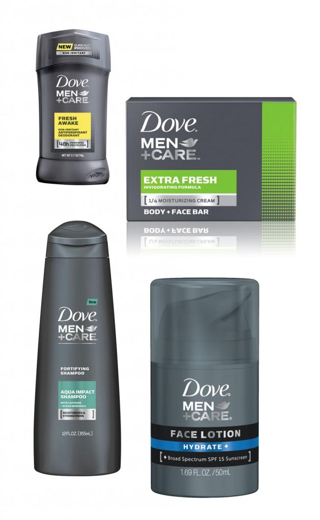 dove giveaway basket