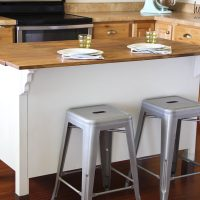 Adding a Bar to a Kitchen Island