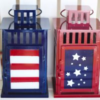 Patriotic Lanterns & Giveaway!