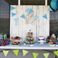 Water Themed Birthday Party