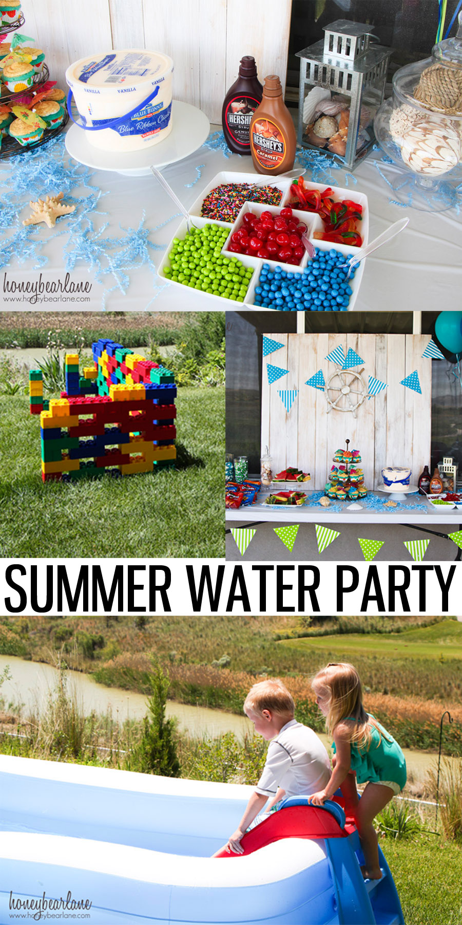 Water Themed Birthday Party Honeybear Lane