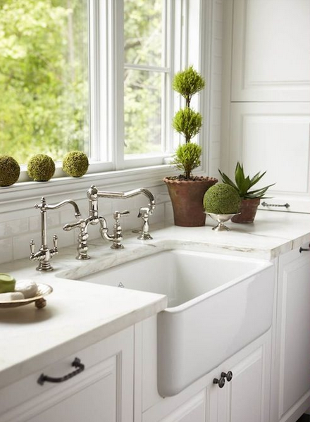 Farmhouse Kitchen Stainless Steel Sink
