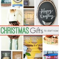 20 Handmade Christmas Gifts to Start Now