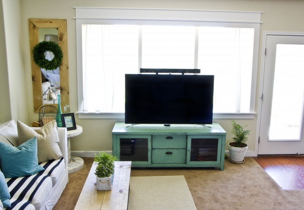 family room techoration