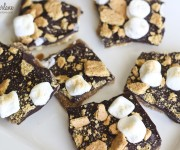 smores chocolate crack