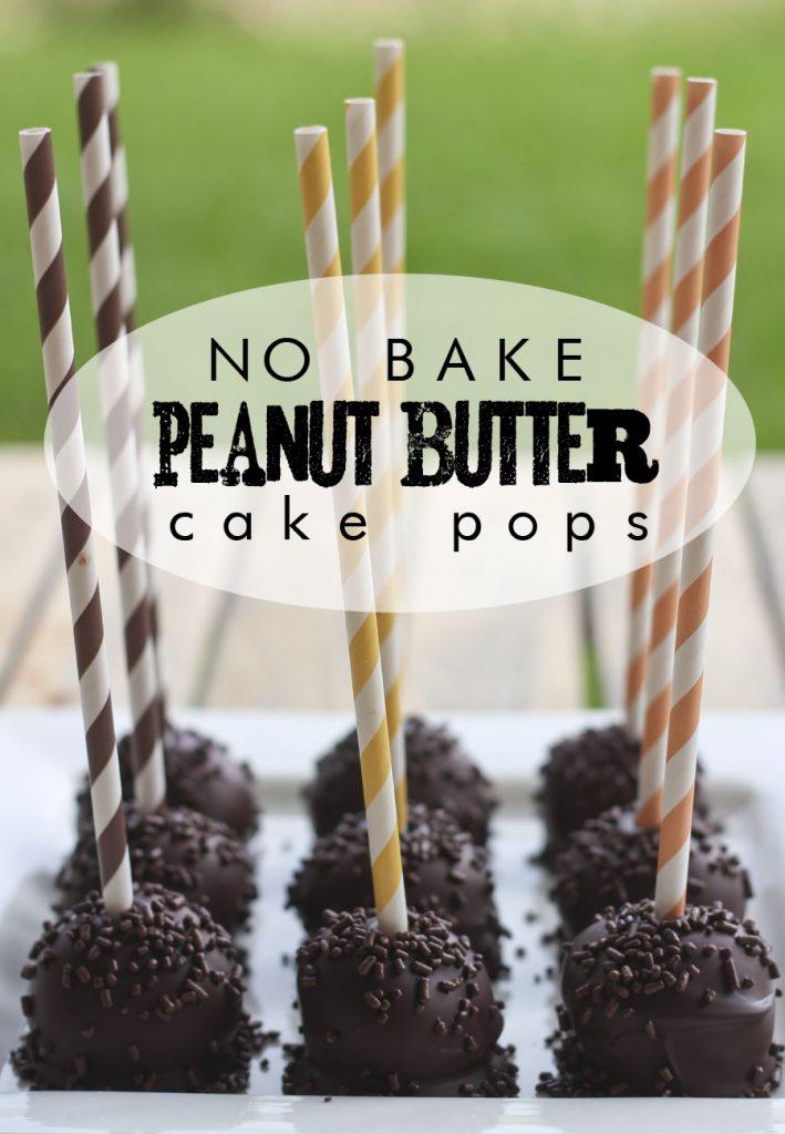 peanut butter cake pops