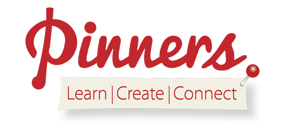 Logo - Pinners learncreateconnect