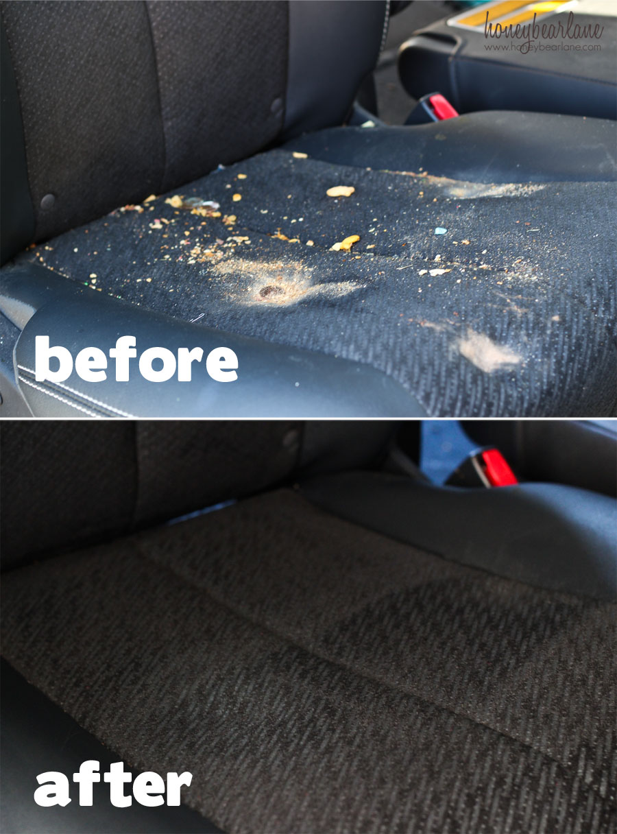 Clean Car Upholstery Without Using Soap