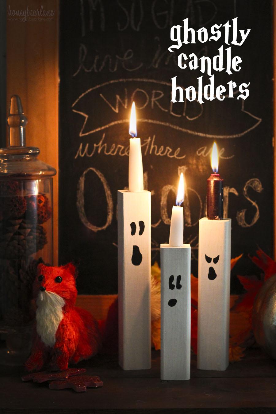 Ghost Candles Honeybear Lane