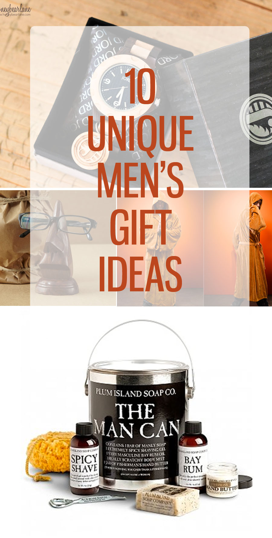 10 unique mens gift ideas honeybear lane for Clever gifts for men