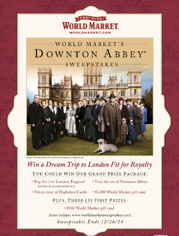 Downton Abbey Sweeps Image-2