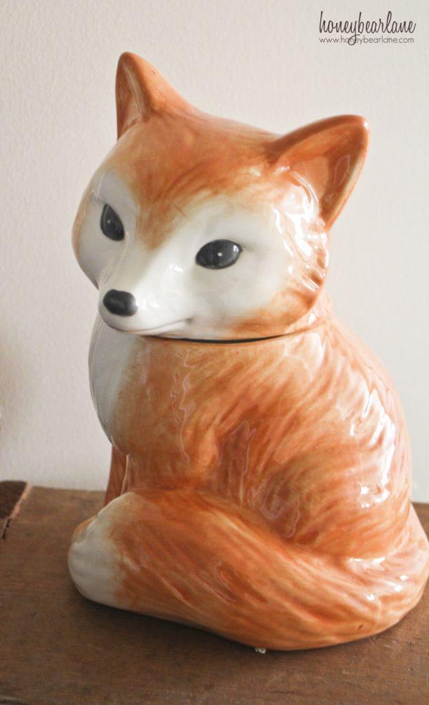 bhg ceramic fox