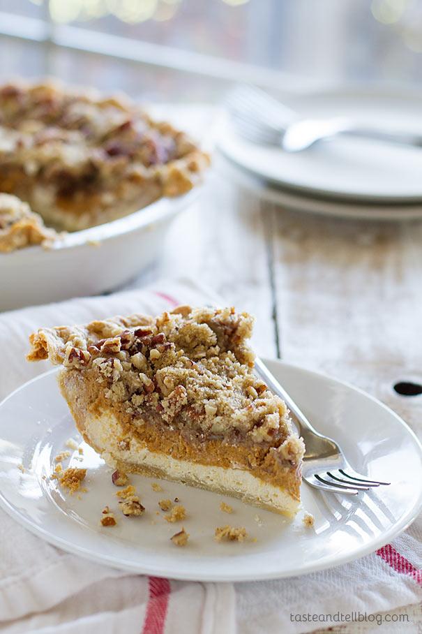 Blueberry Swirl Ice Cream Pie With Hazelnut Crust Recipe ...