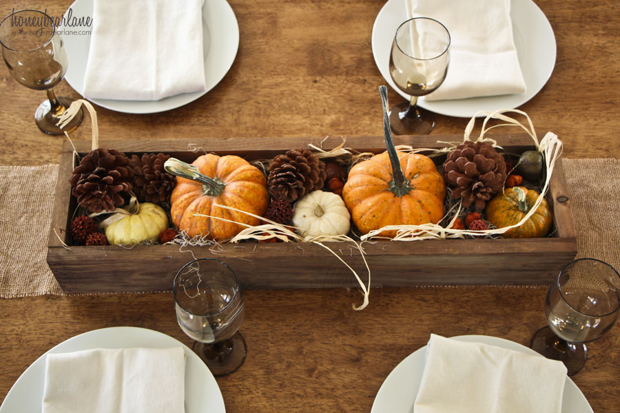 thanksgiving box centerpiece - Thanksgiving Centerpieces Ideas
