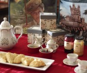 Our Downton Abbey Tea Party & Giveaway