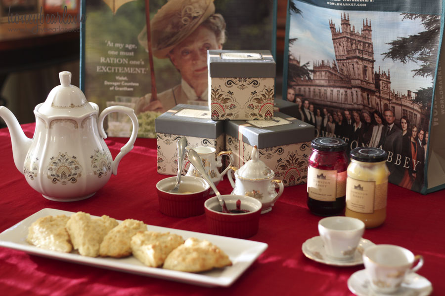 Our downton abbey tea party honeybear lane