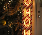 Ho Ho Ho Christmas Marquee Sign