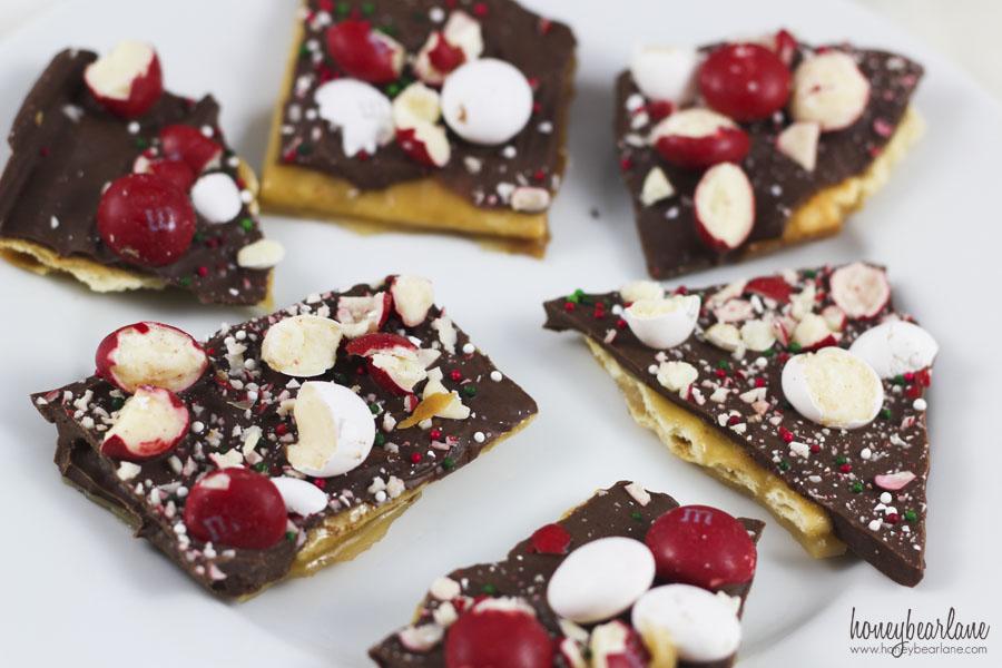 Chocolate Peppermint Crack Recipe - HoneyBear Lane