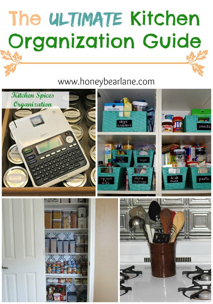 The Ultimate Kitchen Organization Guide