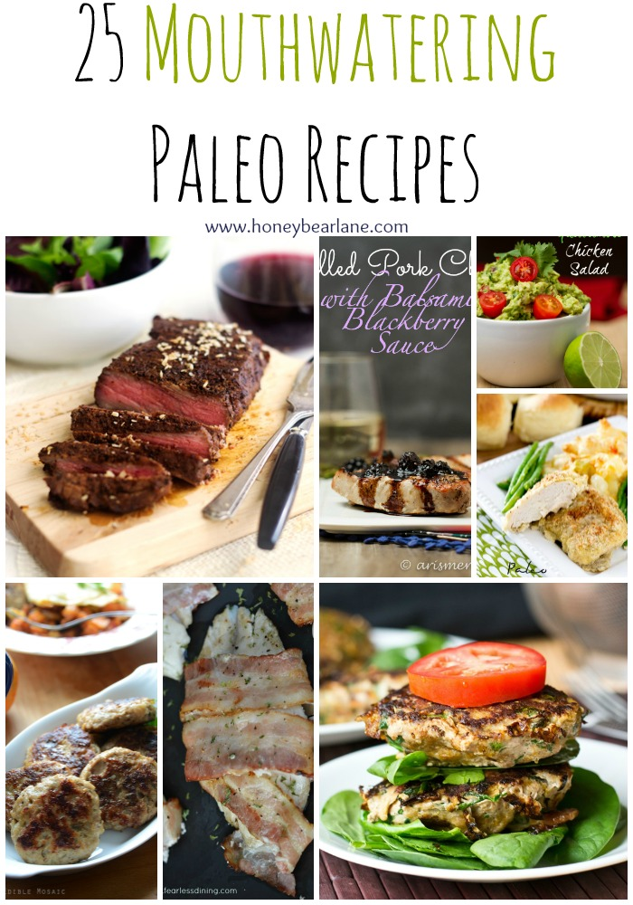 25 Mouthwatering Paleo Recipes