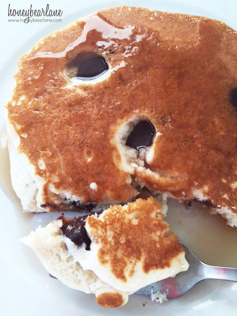Chocolate Fruit Pancakes Honeybear Lane