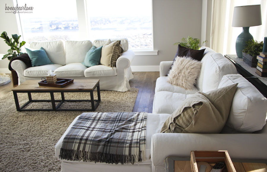 white couches