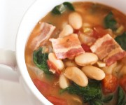 Tuscan Spinach and Bean Soup
