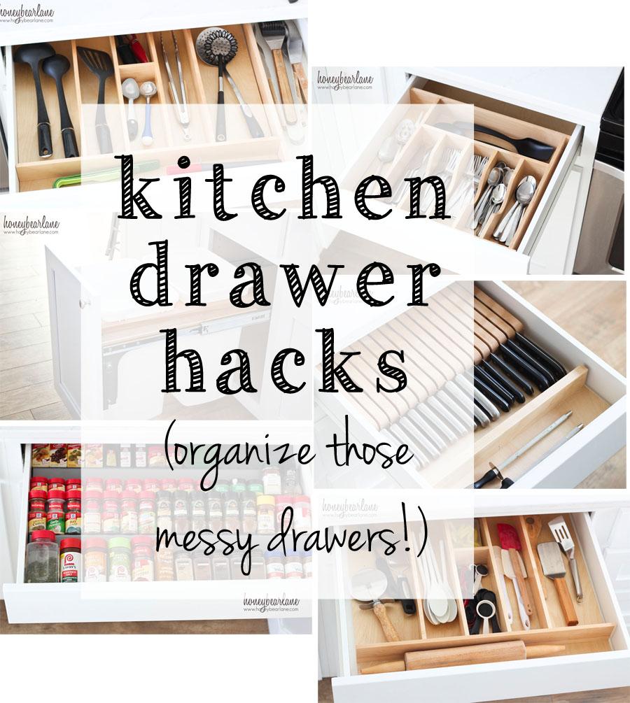 kitchen drawer hacks
