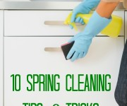 10 Spring Cleaning Tips and Tricks