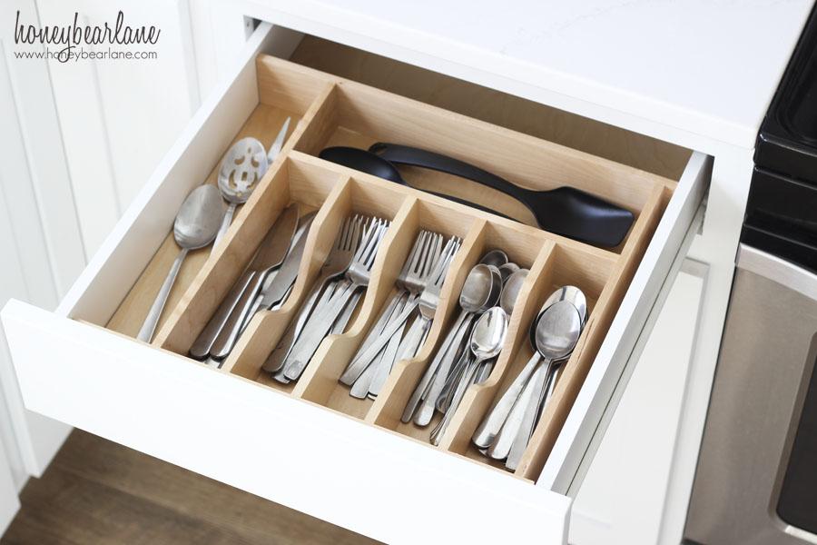 utensil drawer organization