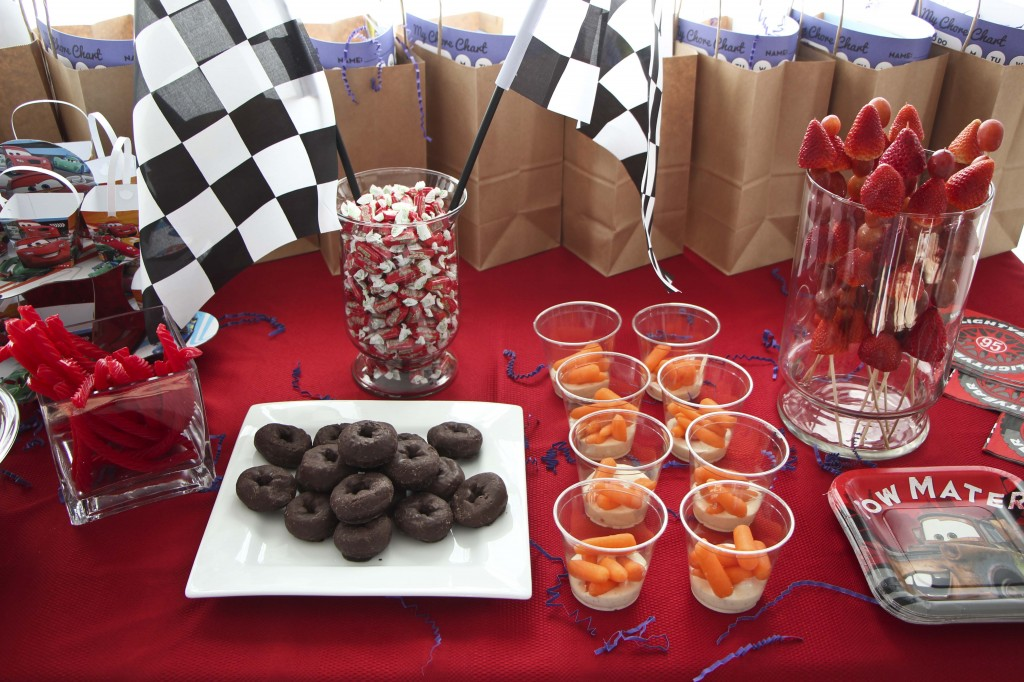 cars party food_1