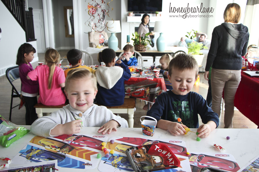 disney cars party fun