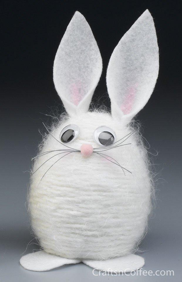 15 Enjoyable Easter Crafts For Kids - HoneyBear Lane